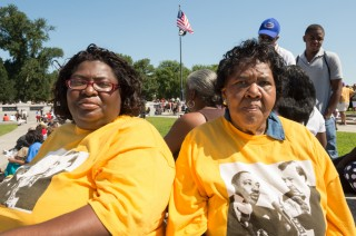 Cynthia and Marie, March on Washington - 50th Anniversary, DC