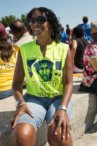 Desiree, March on Washington - 50th Anniversary, DC